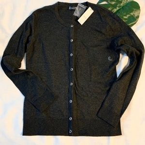 New York & Company Charcoal Cardigan • Size M